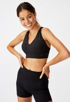 Cotton On - Workout training crop - black