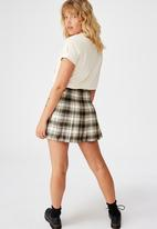 Factorie - Pleated skirt - multi