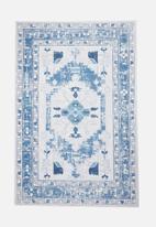 Fotakis - Savanah aztec printed rug - blue