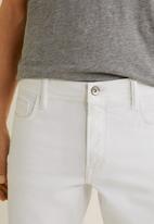 MANGO - Jan jeans - white