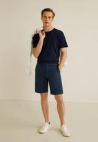 MANGO - Kristof bermuda shorts - navy