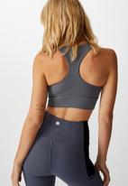 Cotton On - Rib cut out crop - asphalt