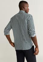 MANGO - Impala shirt - black & white
