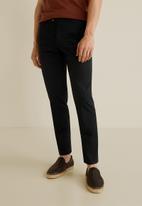 MANGO - Dublin trousers - black