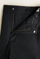 MANGO - Bologna trousers - black