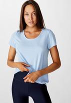 Cotton On - Maternity gym T-shirt - sky blue