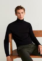 MANGO - Pizarra jersey - black