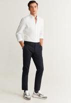 MANGO - Twill shirts - white
