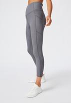 Cotton On - Rib 7/8 tight - grey