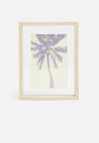 H&S - Palm photo frame - natural