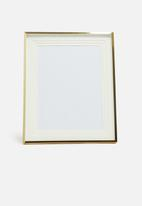 H&S - Gloria photo frame - gold