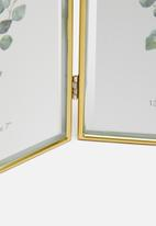 H&S - Sora photo frame - gold