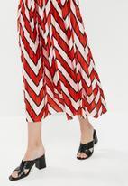 Jacqueline de Yong - Harper midi skirt - multi