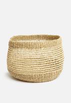 H&S - Layla large basket - natural