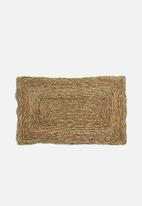 H&S - Willow door mat - natural
