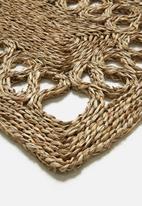 H&S - Seagrass door mat - natural