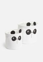 H&S - Basket set - panda