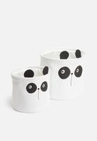 H&S - Soft basket set - panda