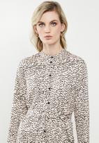 Vero Moda - Tessa shirt dress - neutral & black