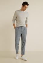 MANGO - Nolan pants - grey