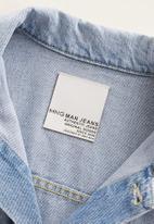 MANGO - Ryan denim jacket - blue