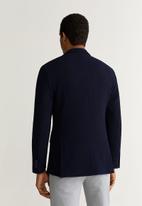 MANGO - Mia button blazer - navy