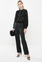 Vero Moda - Jadette long sleeve shirt - black