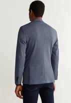 MANGO - Carducci button blazer - blue