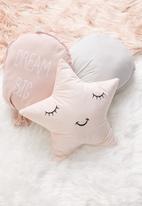 H&S - Star cushion - pink