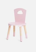 H&S - Playful chair - pink