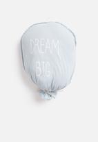 H&S - Balloon cushion - blue