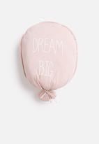 H&S - Balloon cushion - pink