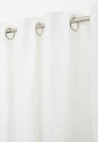 H&S - Rey eyelet curtain - white