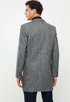 Only & Sons - Julian king coat - grey