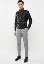 Only & Sons - Biker jacket - black