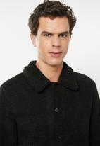 Only & Sons - Todd coach sweat jacket - black