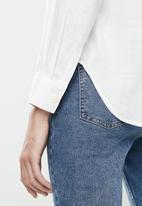 MANGO - Ben shirt - white