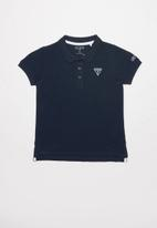 GUESS - Guess kids short sleeve core polo tee - navy