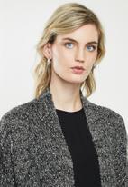 Jacqueline de Yong - Casey cardi - dark grey