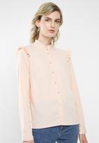 Vero Moda - Fatima long sleeve shirt - rose dust
