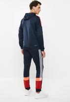 adidas Performance - Mens sport hooded tracksuit - multi