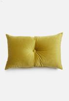 Sixth Floor - Button cushion - green