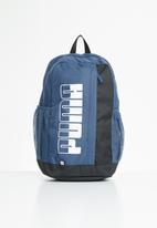 PUMA - Puma plus backpack ii - blue & black