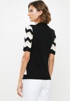 Jacqueline de Yong - Groningen short sleeve jersey - multi