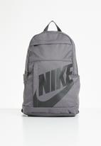 Nike - Nike sportswear elemental backpack - grey