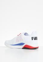 PUMA - Anzarun - puma white-puma black-high risk red