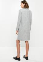 Jacqueline de Yong - Lela knit jacket - grey