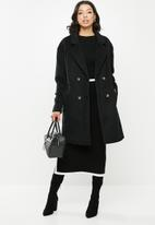 Missguided - Oversized contrast buttons - black