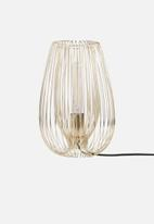 Present Time - Lucid table lamp - gold