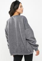 Missguided - Washed sweatshirt - grey